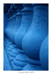 Blue Columns by karenbirch