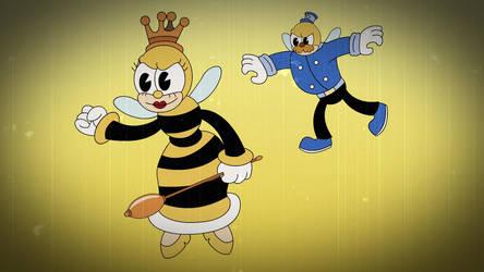 Rumor Honeybottoms-Cuphead by PegasusZebra
