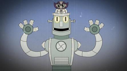 Dr. Kahls Robot-Cuphead by PegasusZebra