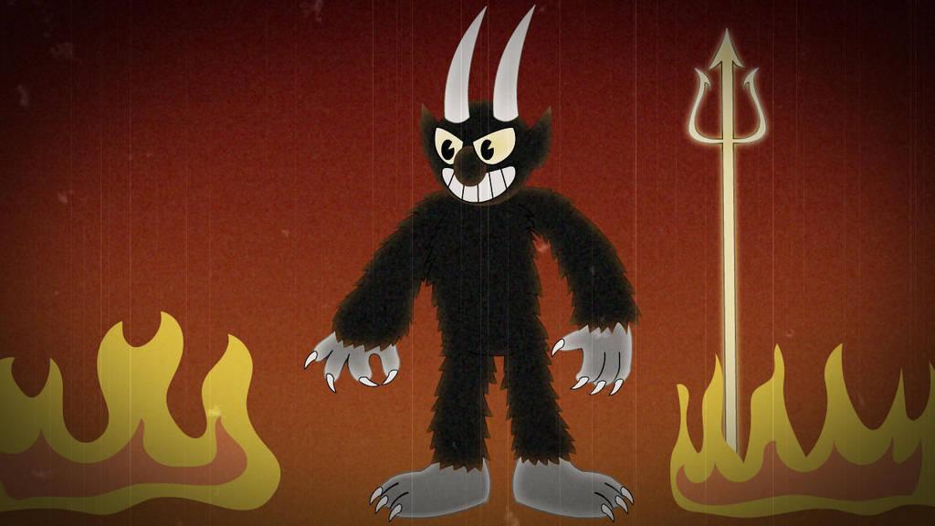 The Devil -Cuphead by PegasusZebra