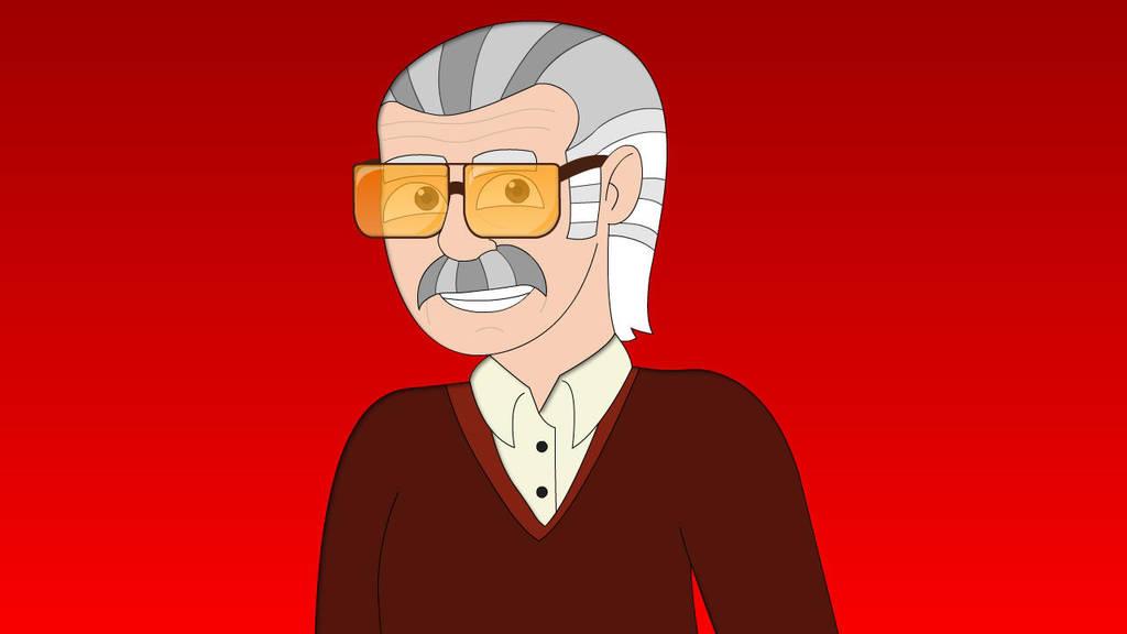 RIP Stan Lee, Our Superhero by PegasusZebra
