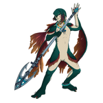Commission for Metroid-Tamer - Kahanu by Crimi-Azna