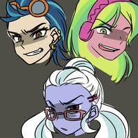 Villains by raika0306