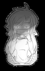 [ Try to smile. ] by Hikari18Ciel