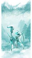 Ice Arceus by Tuooneo