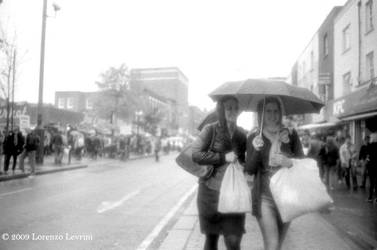 Rainy Camden High St. 1 by defiancetotale