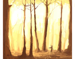 forest by skrhdid