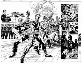 NICK FURY Agent of S.H.I.E.L.D by BillReinhold