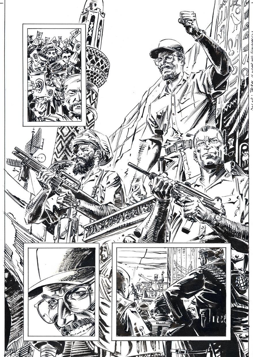 Punisher-Empty Quarter p.22 by BillReinhold