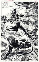 Black Panther 1988 by BillReinhold