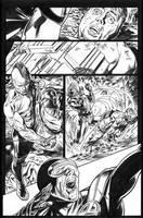 Wolverine Origins 34 p.13 by BillReinhold