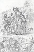 Wolverine Origins 34 p.1p by BillReinhold