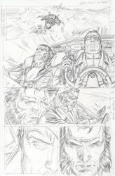 Wolverine Origins 34 p.9p by BillReinhold