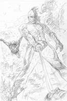 Wolverine Origins 34 p.16p by BillReinhold
