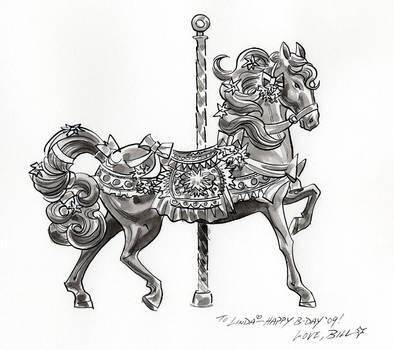 Carousel Horse by BillReinhold
