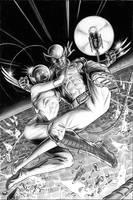 Wolverine Origins 44 Cover by BillReinhold