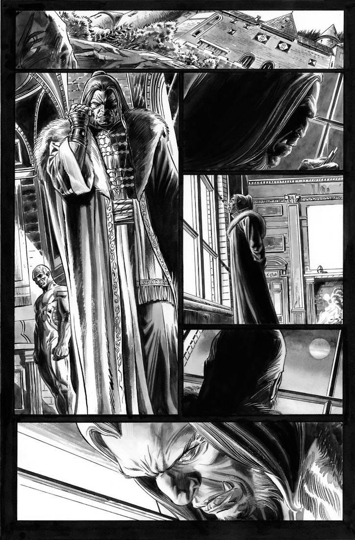 Wolverine Origins 42 p.19 by BillReinhold