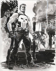 Punisher 2011 Two by BillReinhold