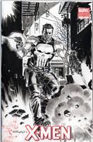 Punisher Blank Variant Cover 2 by BillReinhold