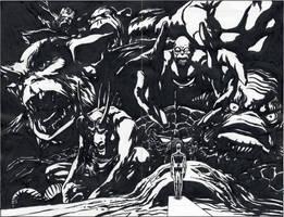 Earth-X 0 Marvel Monsters JPL 1999 by BillReinhold