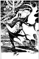 Batman Unpub. 1997 by BillReinhold