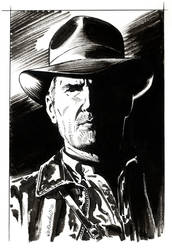 Indiana Jones Portrait by BillReinhold