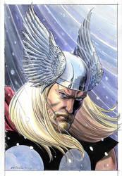 Thor Portrait 2012 by BillReinhold