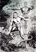 Sub-mariner Aquaman by BillReinhold