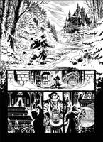 Van Helsing Vs. Jack the Ripper p.01 by BillReinhold