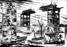 Van Helsing vs. Jack the Ripper p.26-27 by BillReinhold