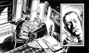 Van Helsing Vs. Jack the Ripper p.31crop by BillReinhold