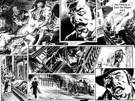Van Helsing Vs. Jack the Ripper Mash-up 2 by BillReinhold