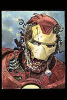 Iron-man Zombie 2015 by BillReinhold