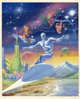 Silver Surfer - Homecoming - Cover by BillReinhold