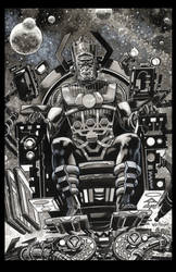 Galactus 2016 commission by BillReinhold