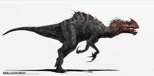 Jurassic World Concept Art - The Malusaurus by IndominusRex