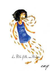 La Petite Fille aux Poissons: cover by emychaoschildren