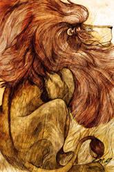 Une Criniere de Lion by emychaoschildren