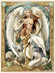 Swan Queen by Echo Chernik by echo-x
