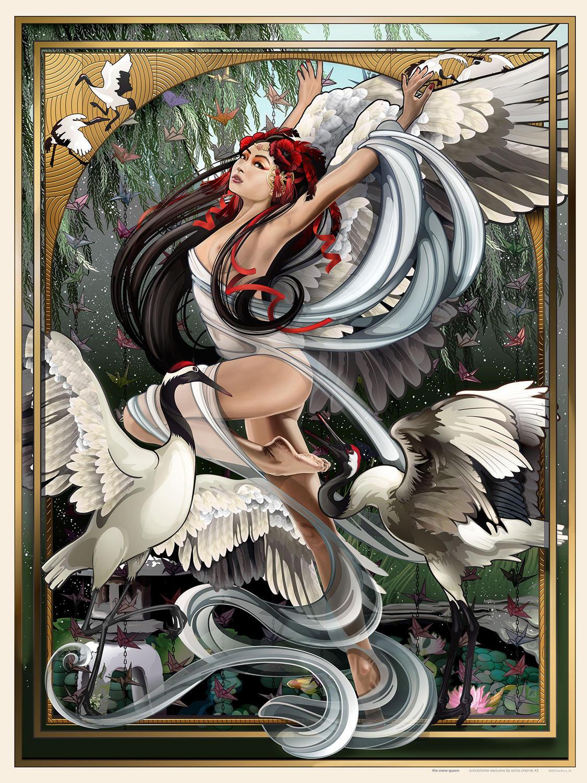 Crane Queen by echo-x