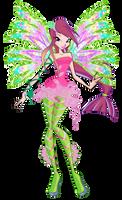 Roxy Sirenix 2D by Winx-Rainbow-Love