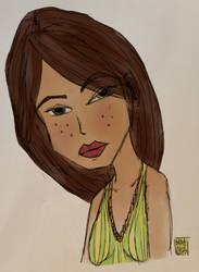 Stylized Sketch on iPad by 2d-Matty