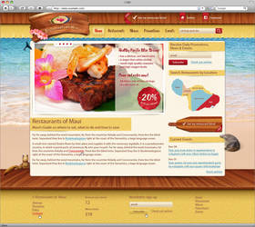 Restaurants of Maui by AnnaLitvinuk