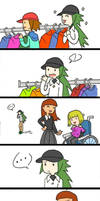 Shopping with N by lilacbird