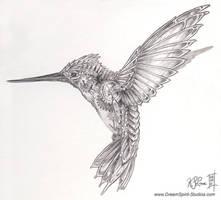 Mechanical Hummingbird Concept by Dreamspirit
