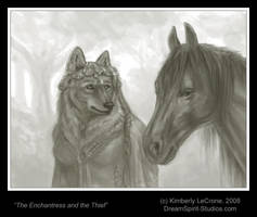 The Enchantress and the Thief by Dreamspirit