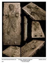 Boyfriend in Carbonite Sculpture by Dreamspirit