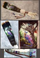 Sorrow+Zarathus Feather Comish by Dreamspirit