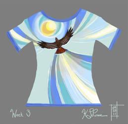 Hawk Shirt Design - Weekly Challenge 3 Result by Dreamspirit