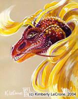Oriental Dragon Female by Dreamspirit